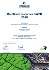 MEYRA - Certificate resources SAVED